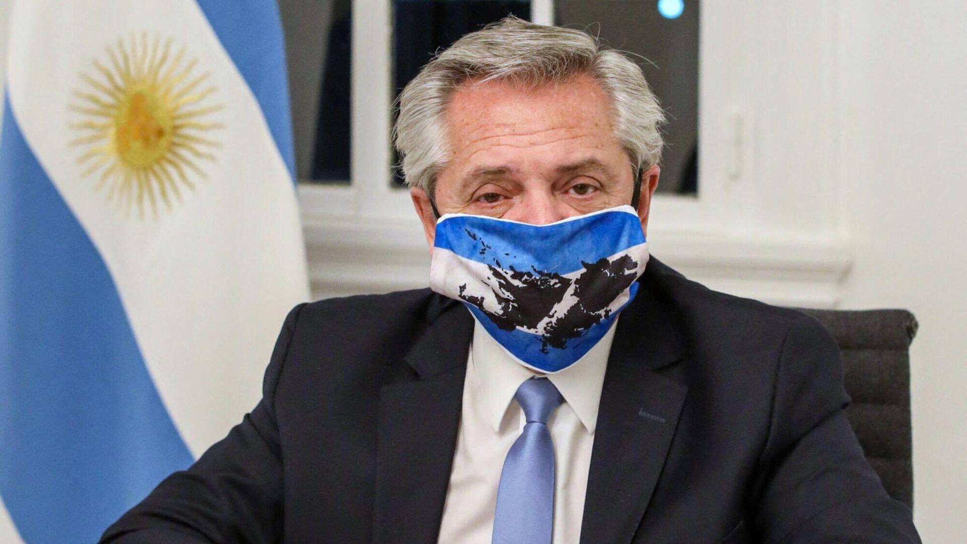 El Presidente Fernández anunció que dio positivo en coronavirus