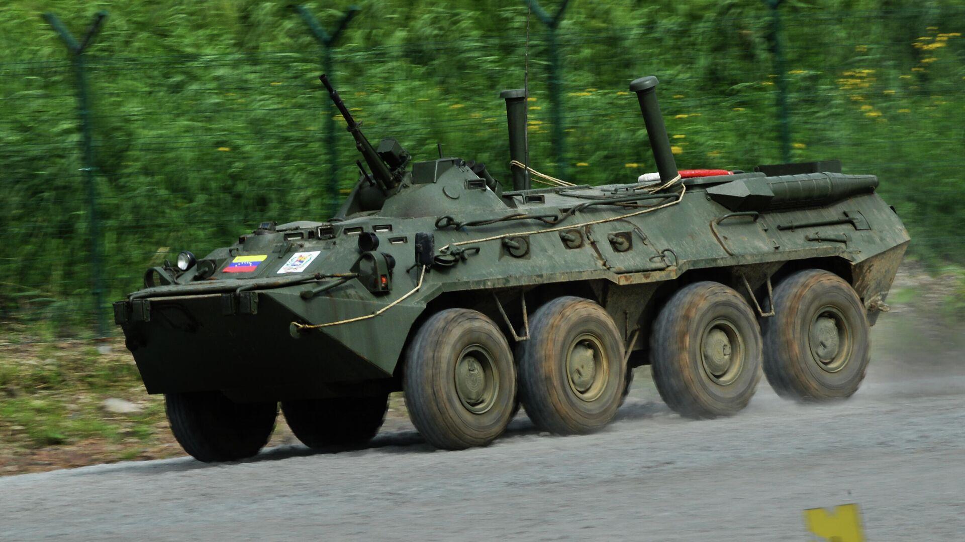 Un BTR-80 - Sputnik Mundo, 1920, 03.04.2021