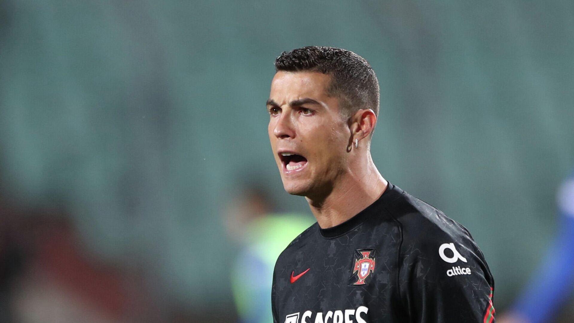 Cristiano Ronaldo, futbolista portugués - Sputnik Mundo, 1920, 03.04.2021