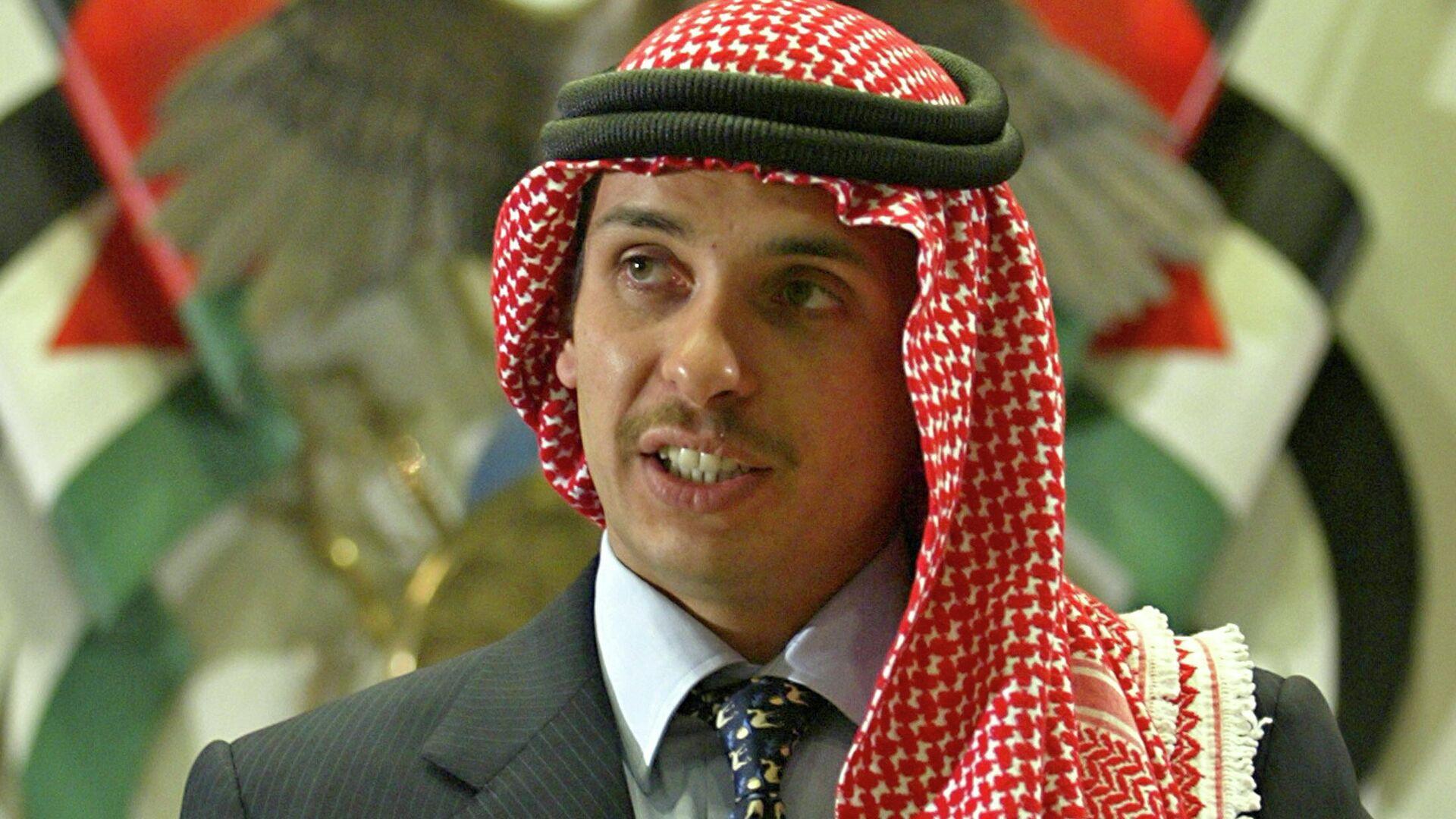 Hamza bin al Hussein, antiguo príncipe heredero de Jordania - Sputnik Mundo, 1920, 03.04.2021