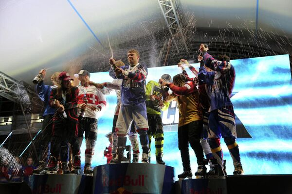 Final del Campeonato del Mundo de Ice Cross en Moscú, Rusia - Sputnik Mundo