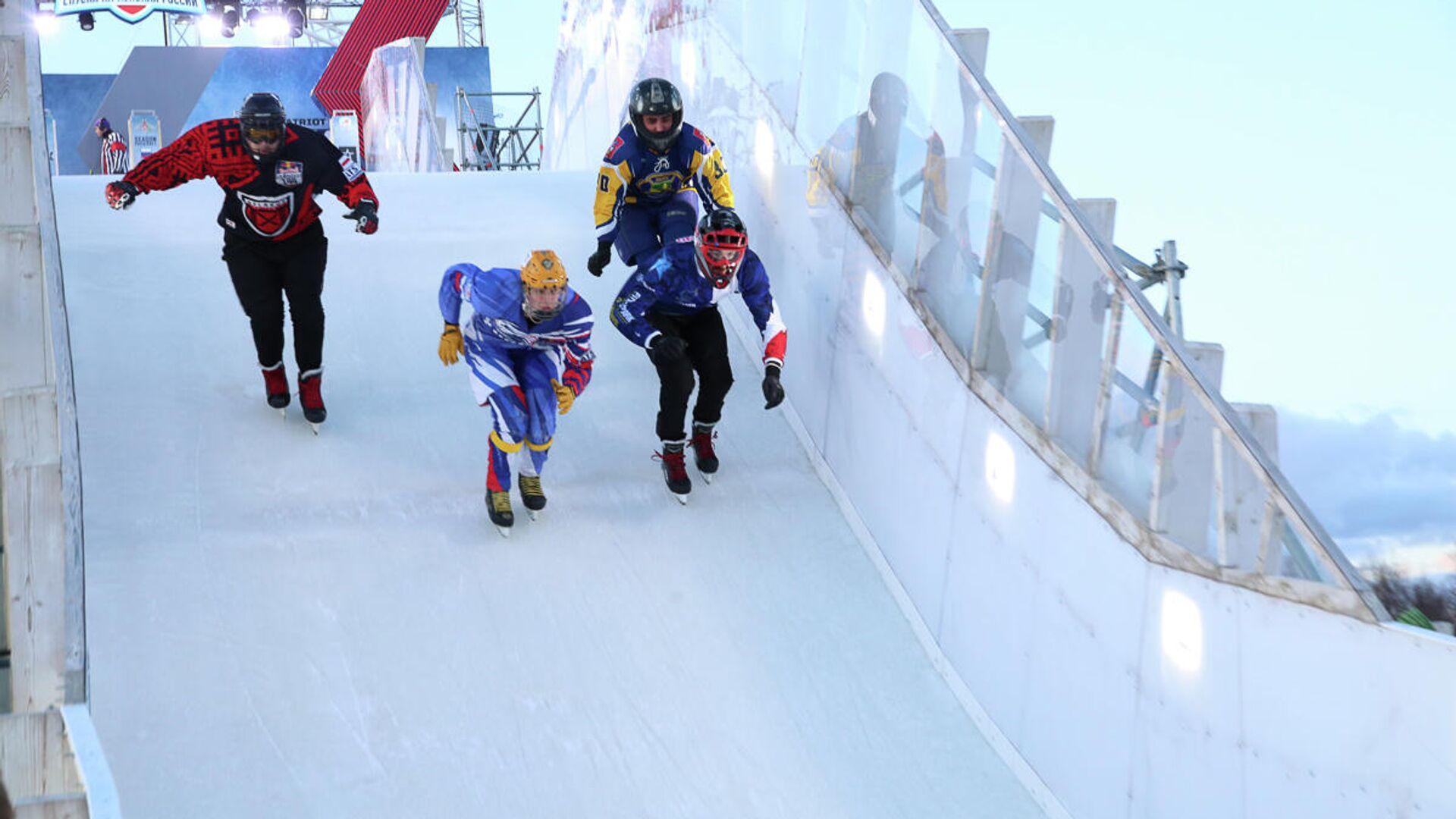 Final del Campeonato del Mundo de Ice Cross en Moscú, Rusia - Sputnik Mundo, 1920, 04.04.2021