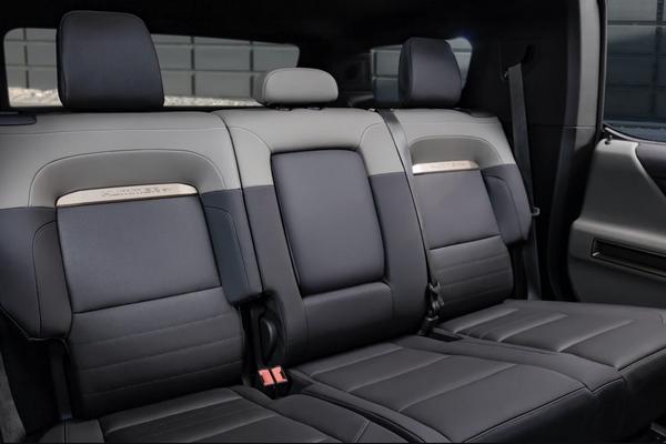 The interior of the GMC Hummer EV SUV - Sputnik World