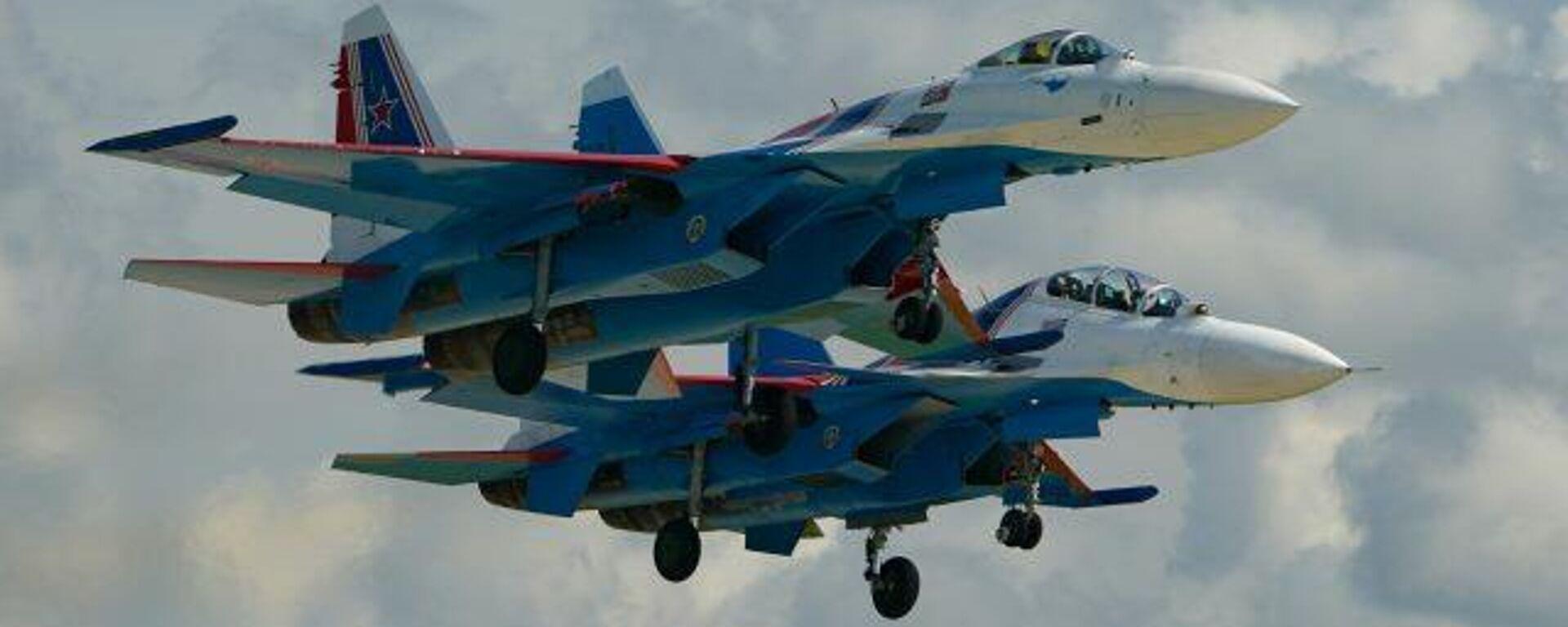 Treinta años de alto pilotaje: así son los Russkie Vitiazi, el único grupo aéreo de cazas pesados - Sputnik Mundo, 1920, 05.04.2021