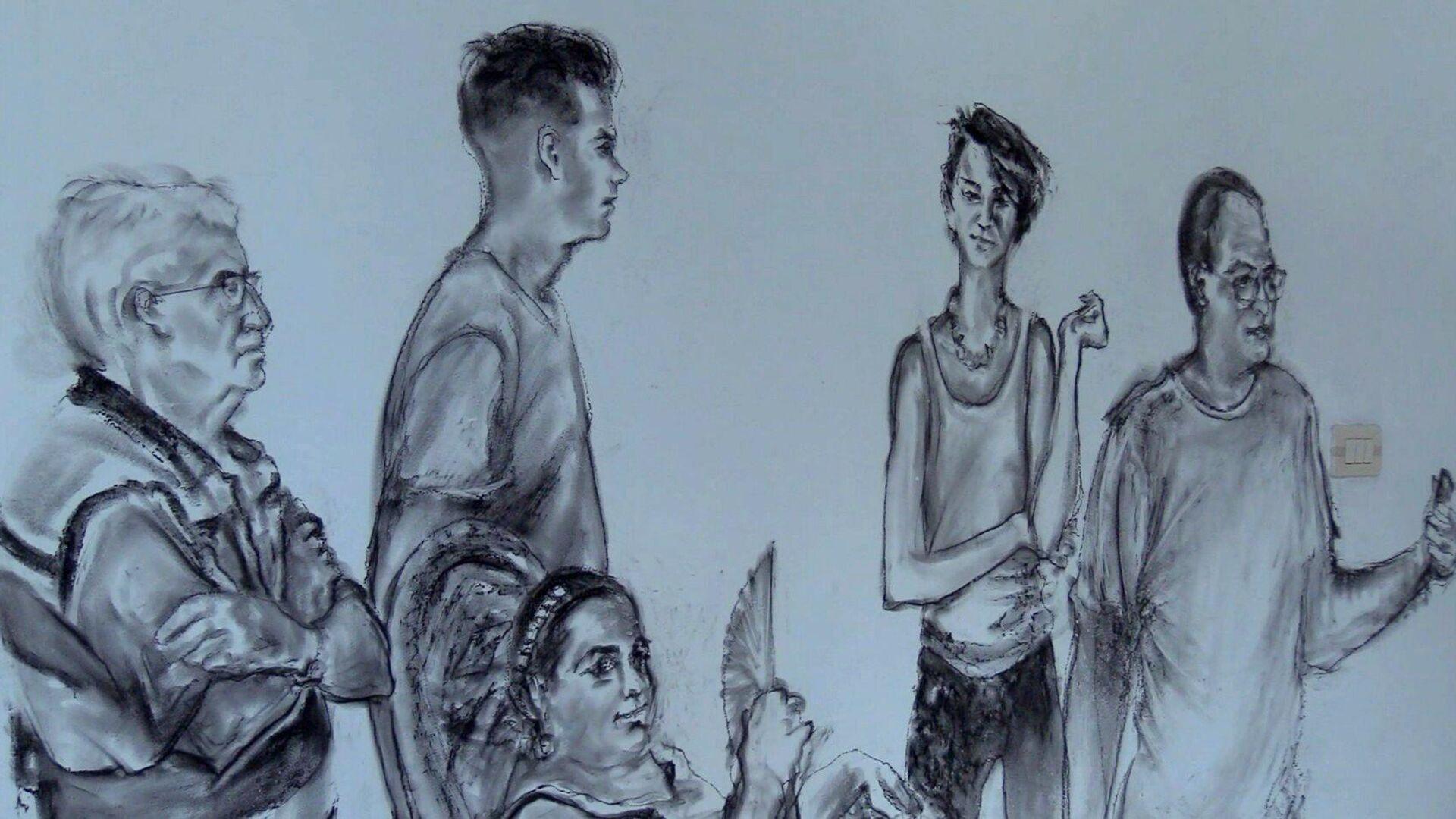 Dibujo del pintor puertorriqueño Antonio Martorell - Sputnik Mundo, 1920, 06.04.2021