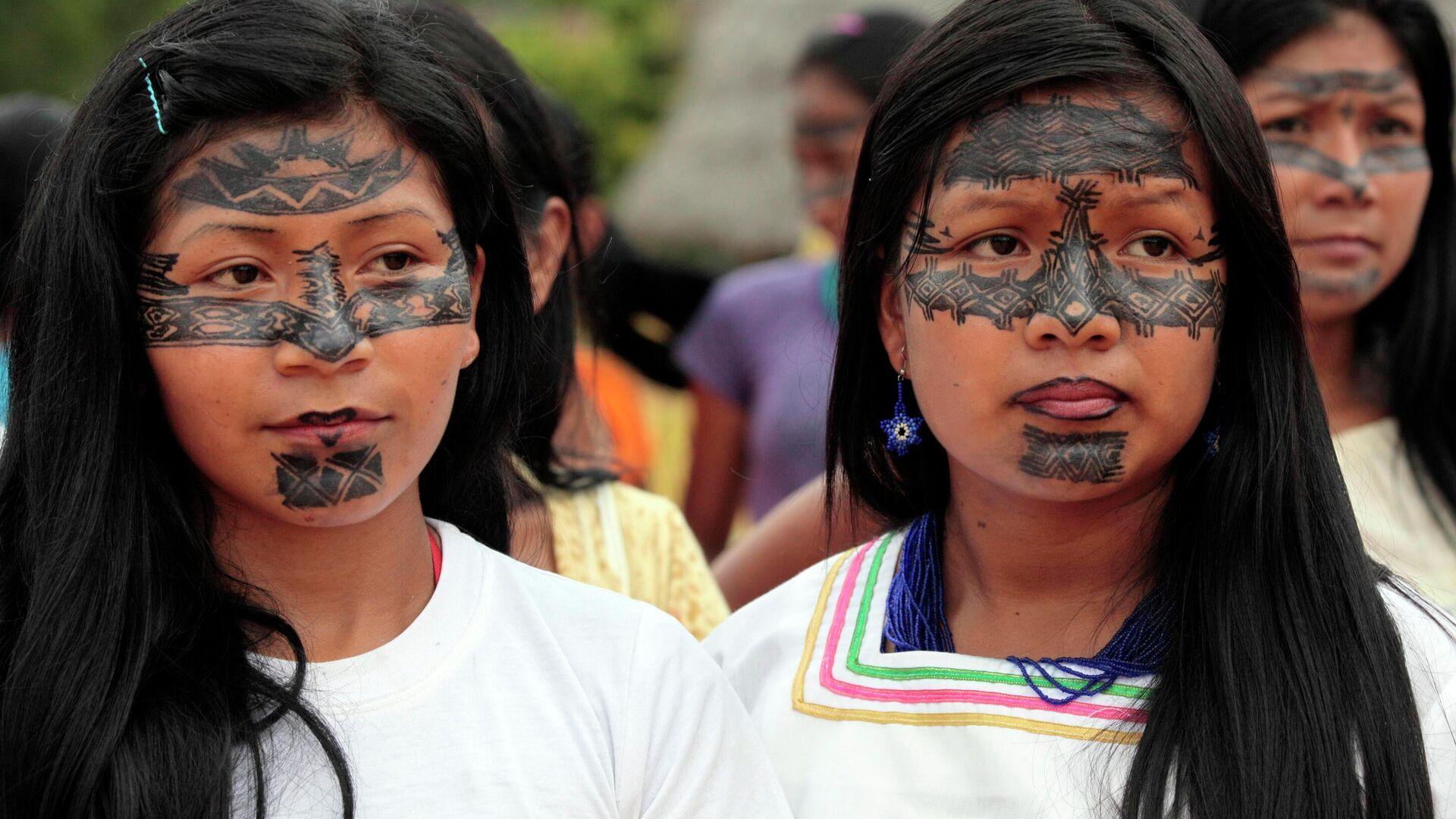 Indígenas de Sarayaku - Sputnik Mundo, 1920, 06.04.2021