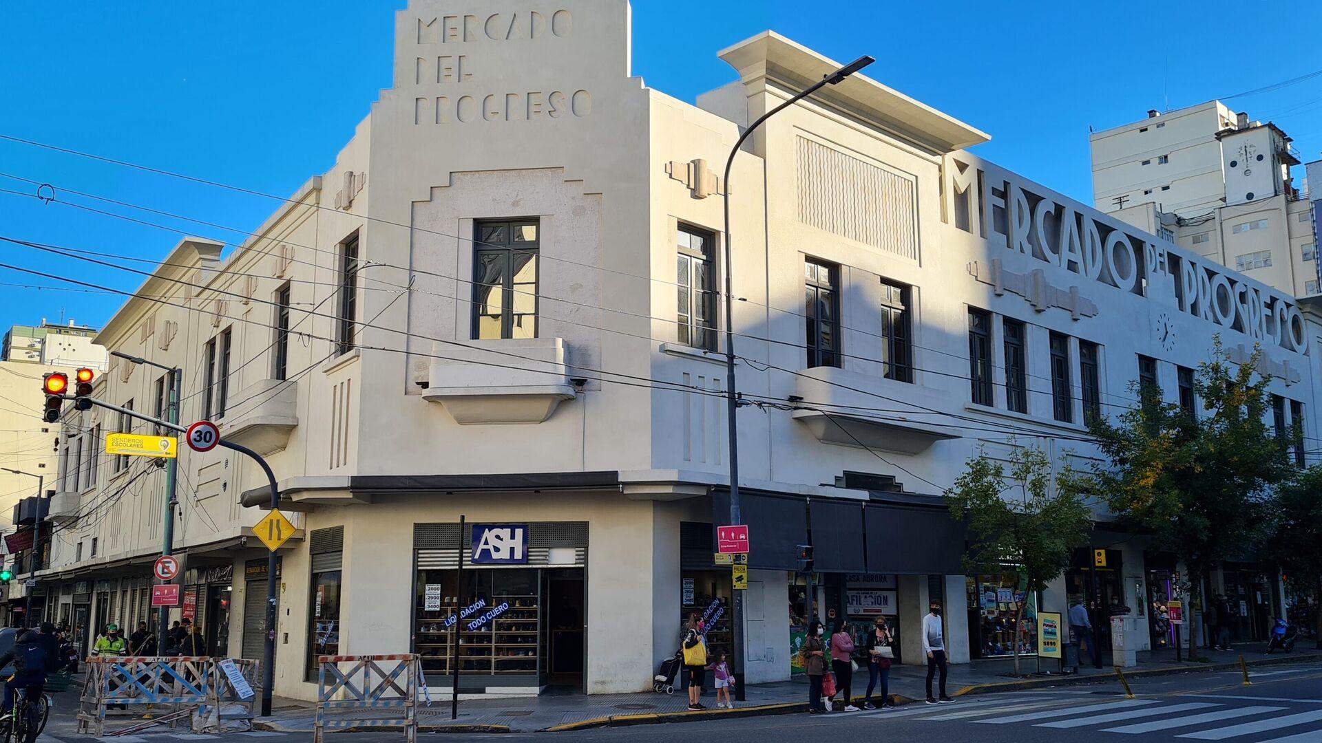 La fachada de estilo art decó, inaugurada en 1930, le dan su toque personal al barrio de Caballito - Sputnik Mundo, 1920, 06.04.2021