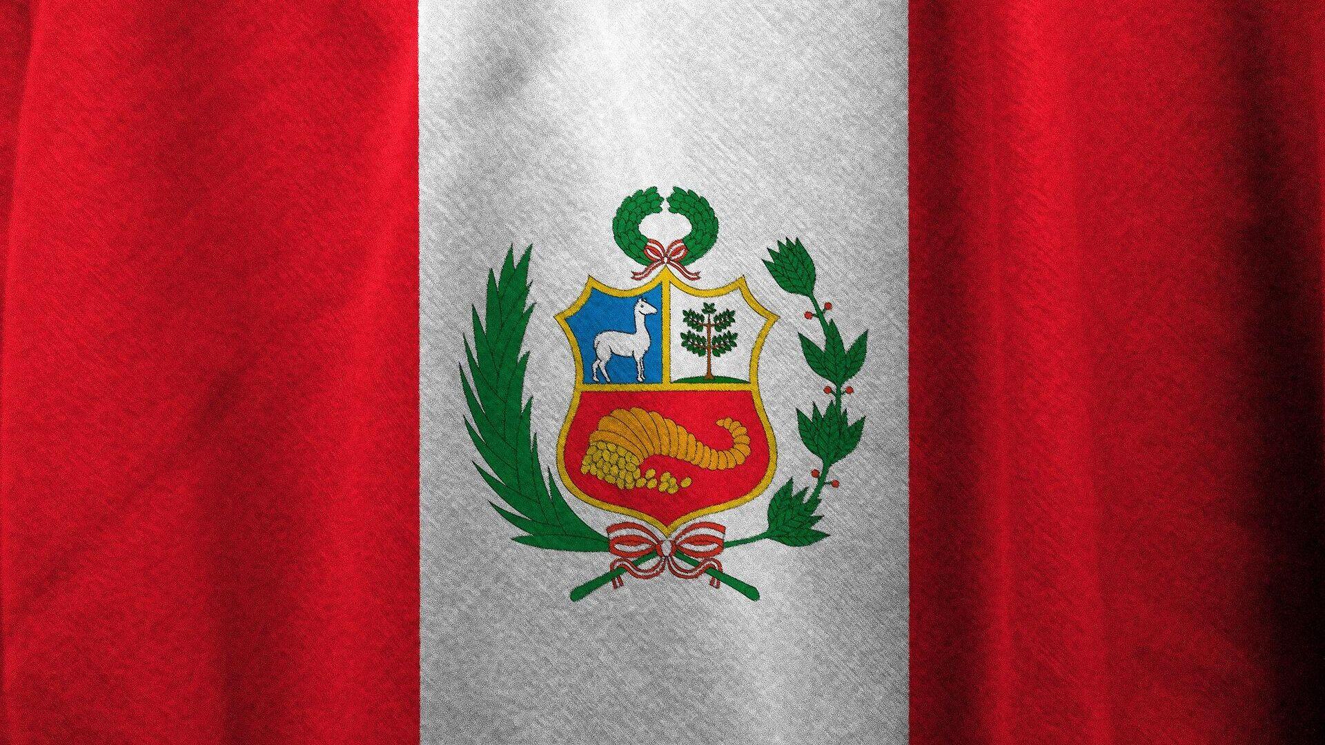 Bandera de Perú. Imagen referencial - Sputnik Mundo, 1920, 03.06.2021