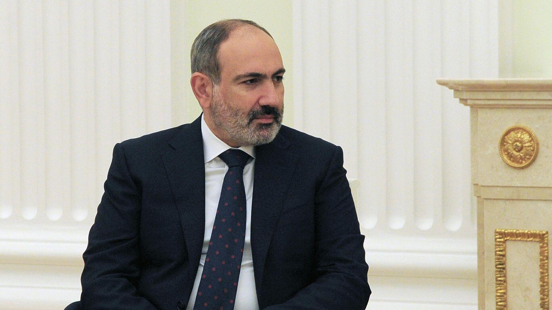 Nikol Pashinián, primer ministro de Armenia - Sputnik Mundo, 1920, 07.04.2021