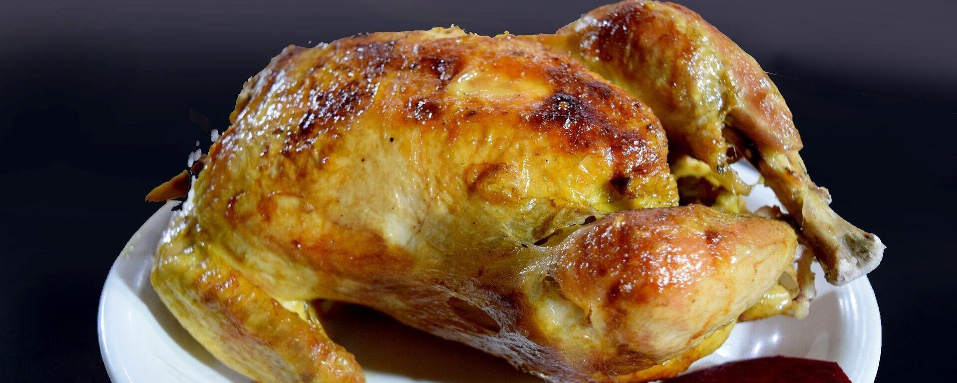 Un pollo asado - Sputnik Mundo, 1920, 07.04.2021