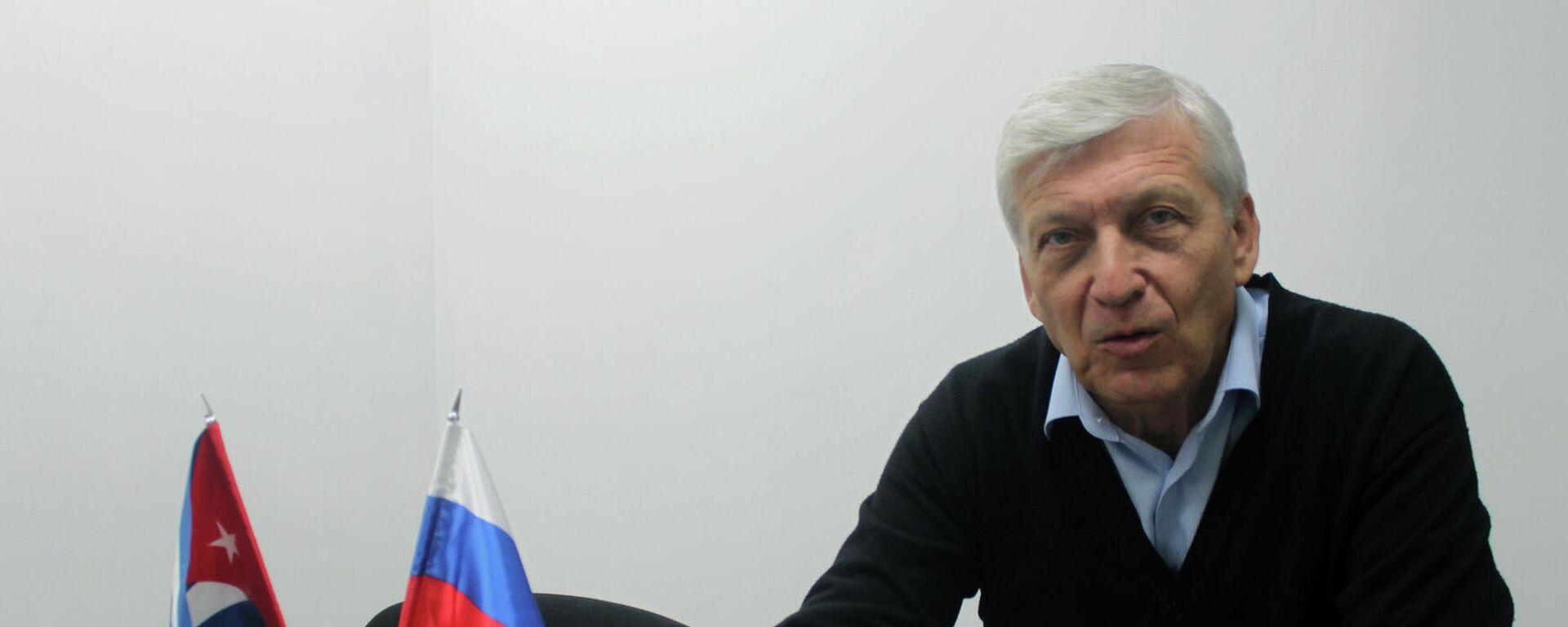 Alexandr Bogatir, representante comercial ruso en Cuba - Sputnik Mundo, 1920, 08.04.2021