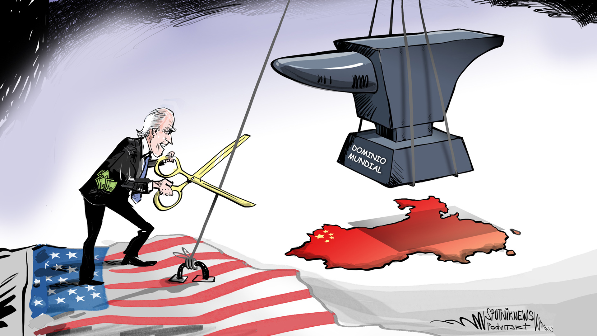 Dominio mundial: la protección de Biden contra el ascenso de China - Sputnik Mundo, 1920, 08.04.2021