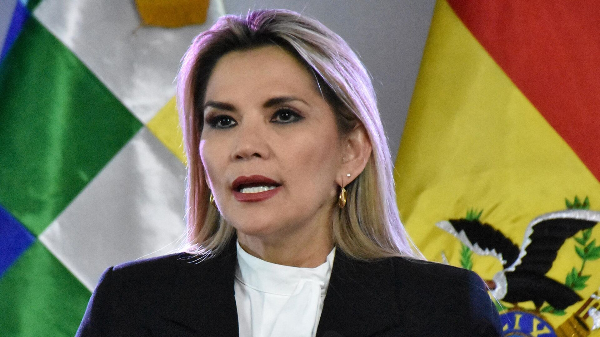 Jeanine Áñez, expresidenta transitoria de Bolivia - Sputnik Mundo, 1920, 14.04.2021