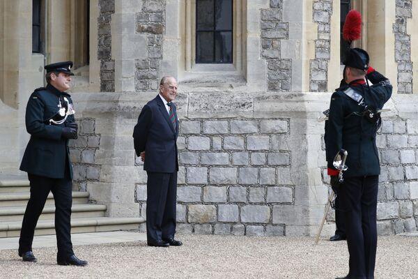 El príncipe Felipe durante un evento oficial el 22 de julio de 2020. - Sputnik Mundo