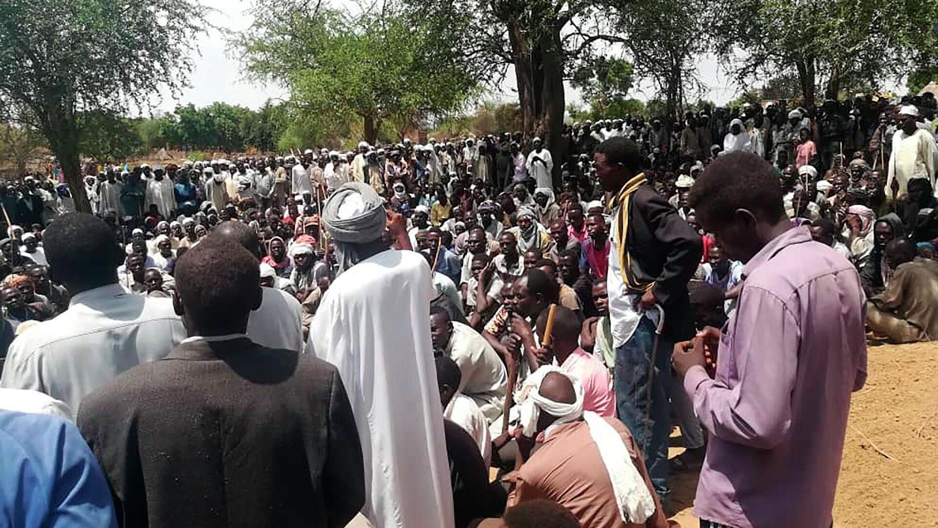Un funeral en Darfur Occidental, Sudán - Sputnik Mundo, 1920, 09.04.2021
