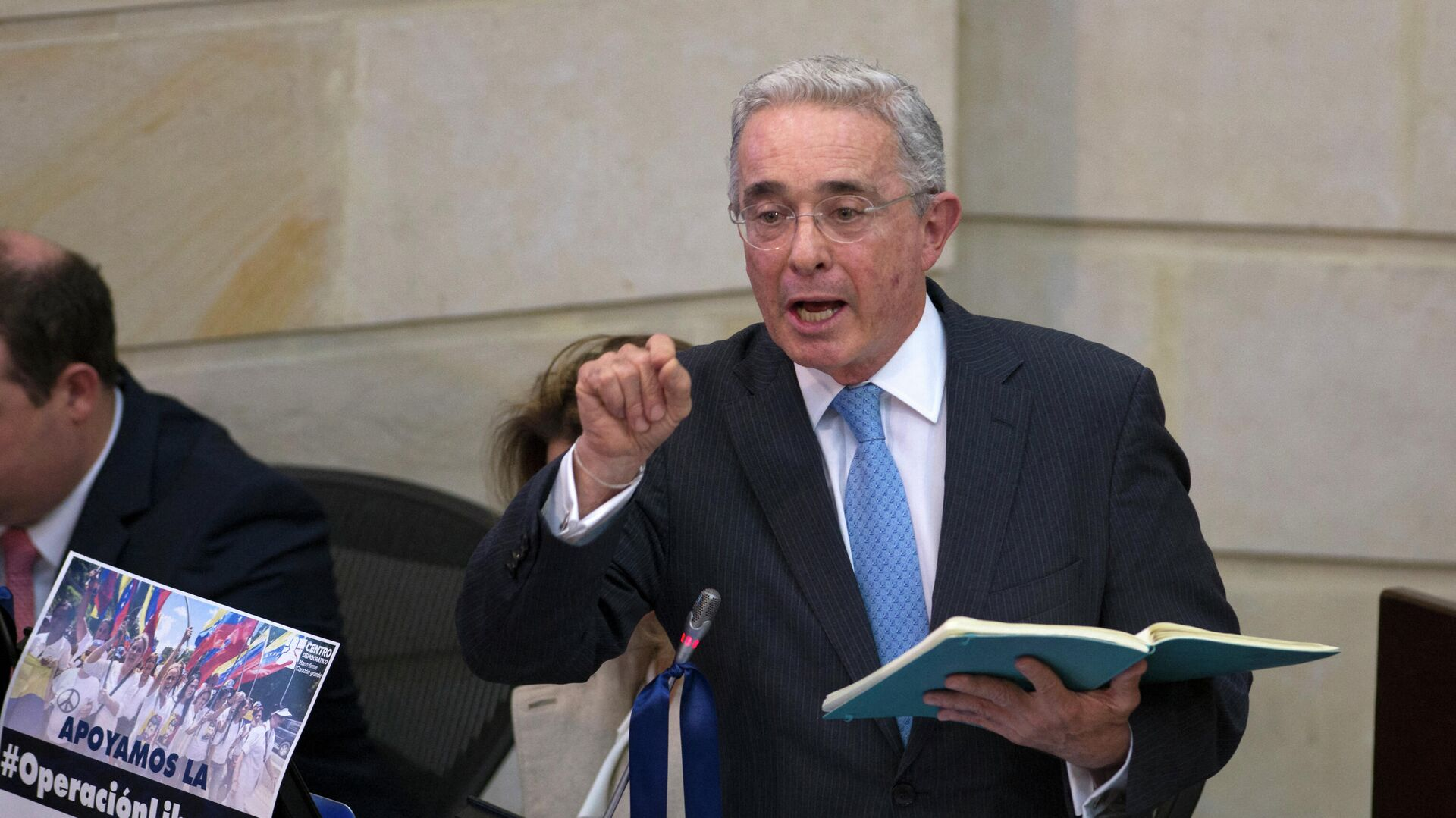 Álvaro Uribe, expresidente y exsenador colombiano - Sputnik Mundo, 1920, 09.04.2021
