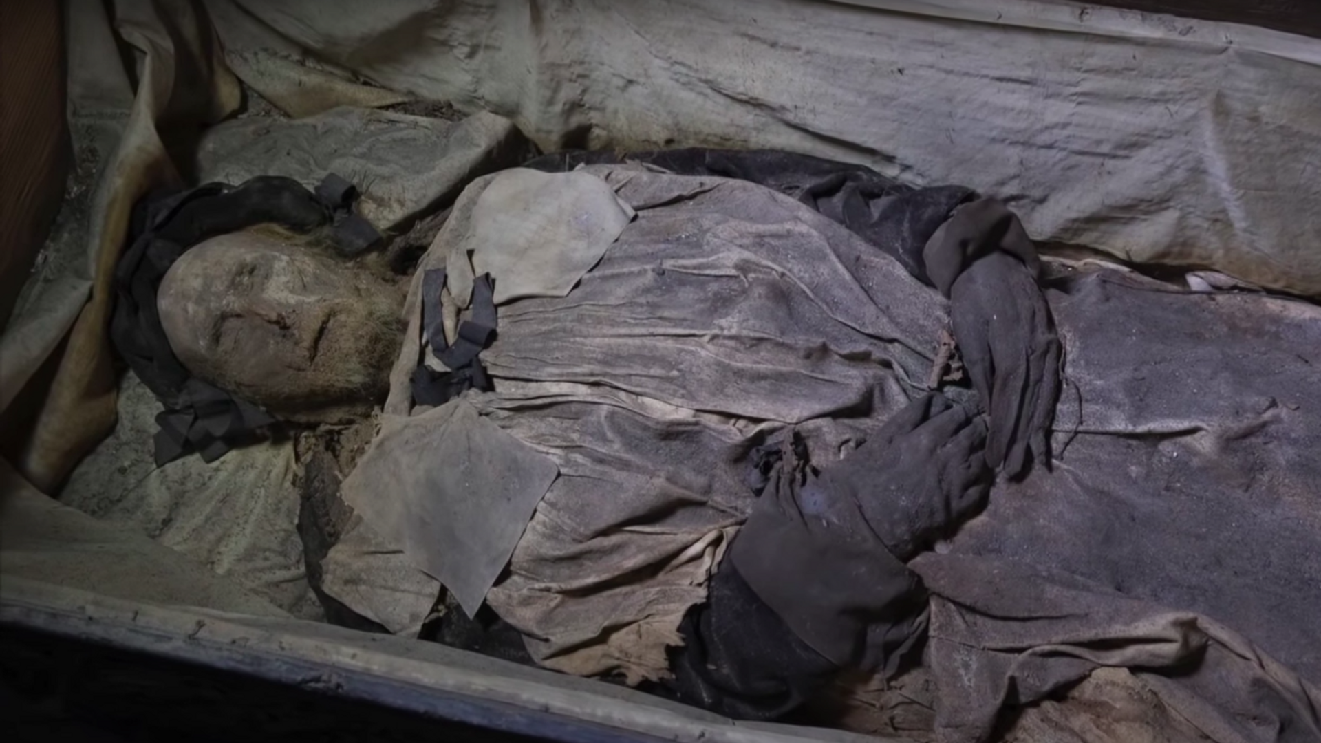 La momia del obispo Peder Winstrup - Sputnik Mundo, 1920, 10.04.2021