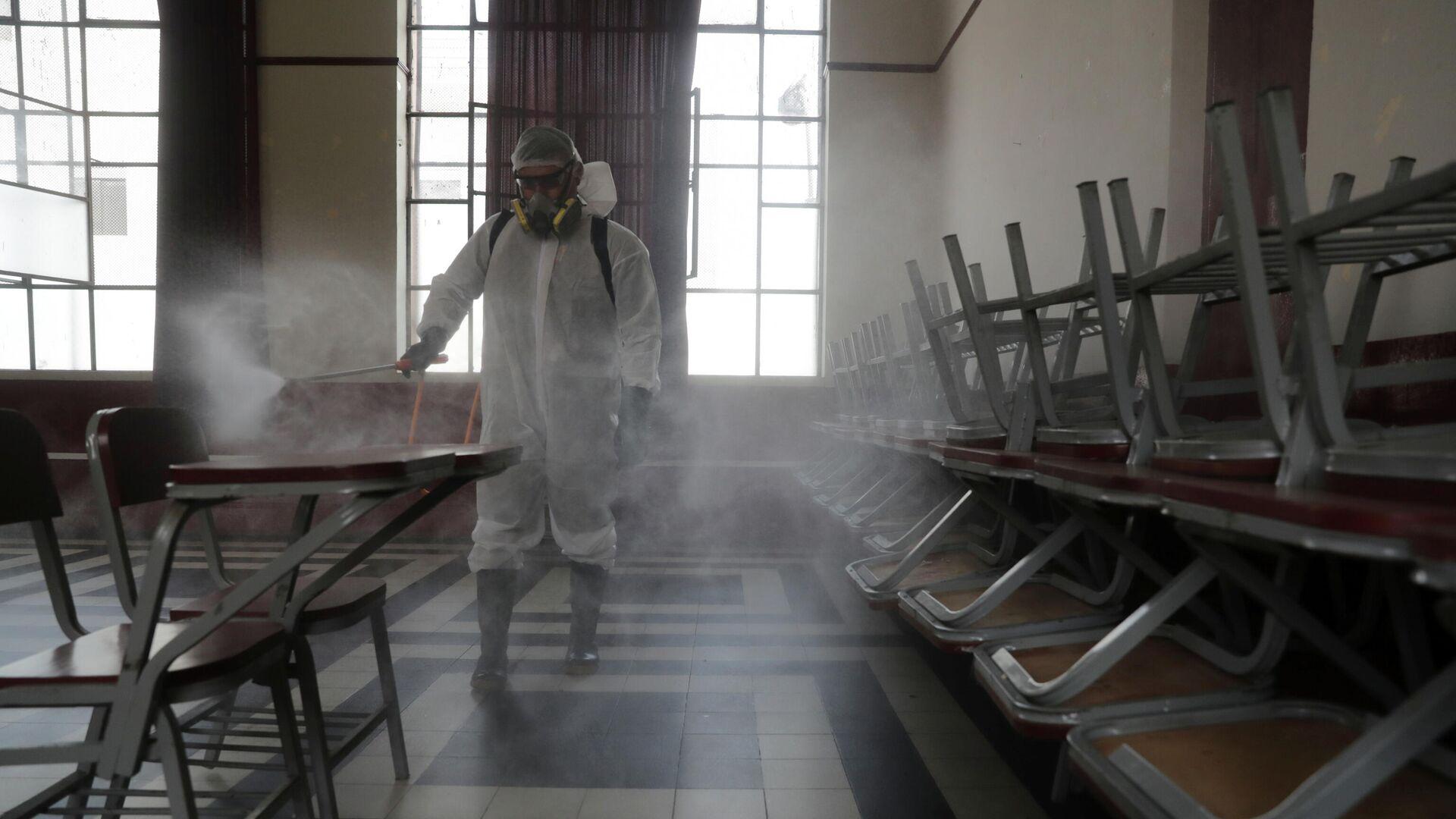 Preparaciones antes de las elecciones en Perú - Sputnik Mundo, 1920, 10.04.2021
