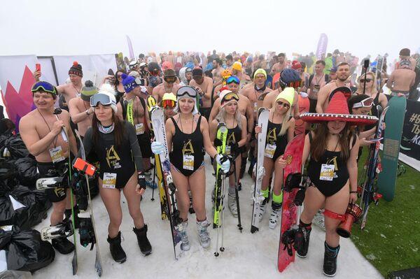 En aquella ocasión, casi 2.000 personas participaron del descenso. - Sputnik Mundo