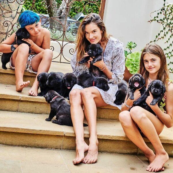 Alessandra es madre de dos hijos: Anja Ambrosio Masur, nacida en 2008, y Noah Phoenix (2012). - Sputnik Mundo