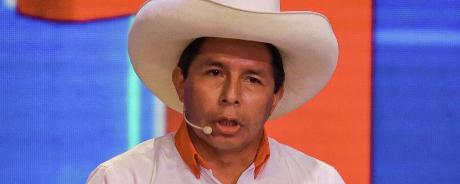 Pedro Castillo, político peruano - Sputnik Mundo, 1920, 11.05.2021