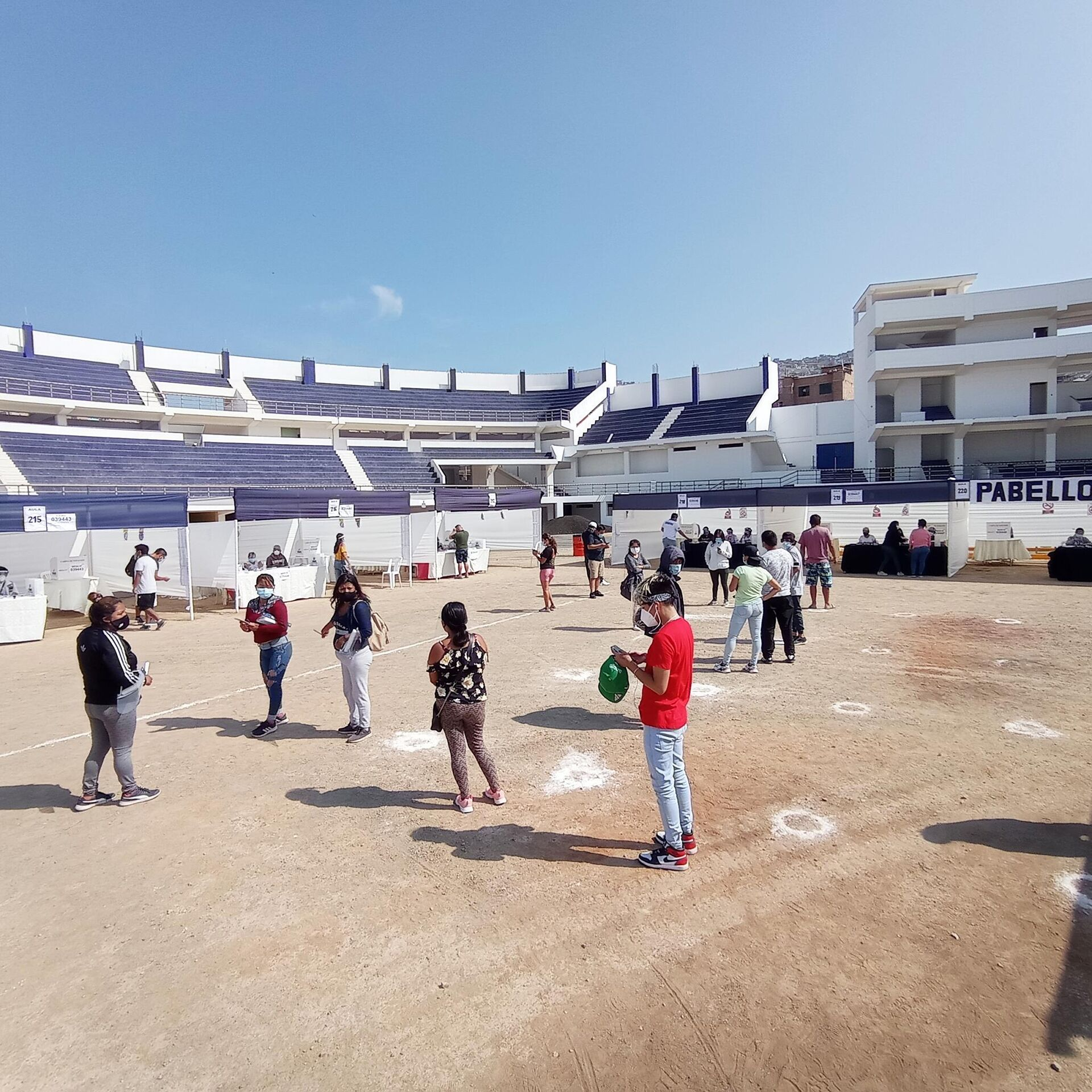 Estadio de San Genaro - Sputnik Mundo, 1920, 11.04.2021