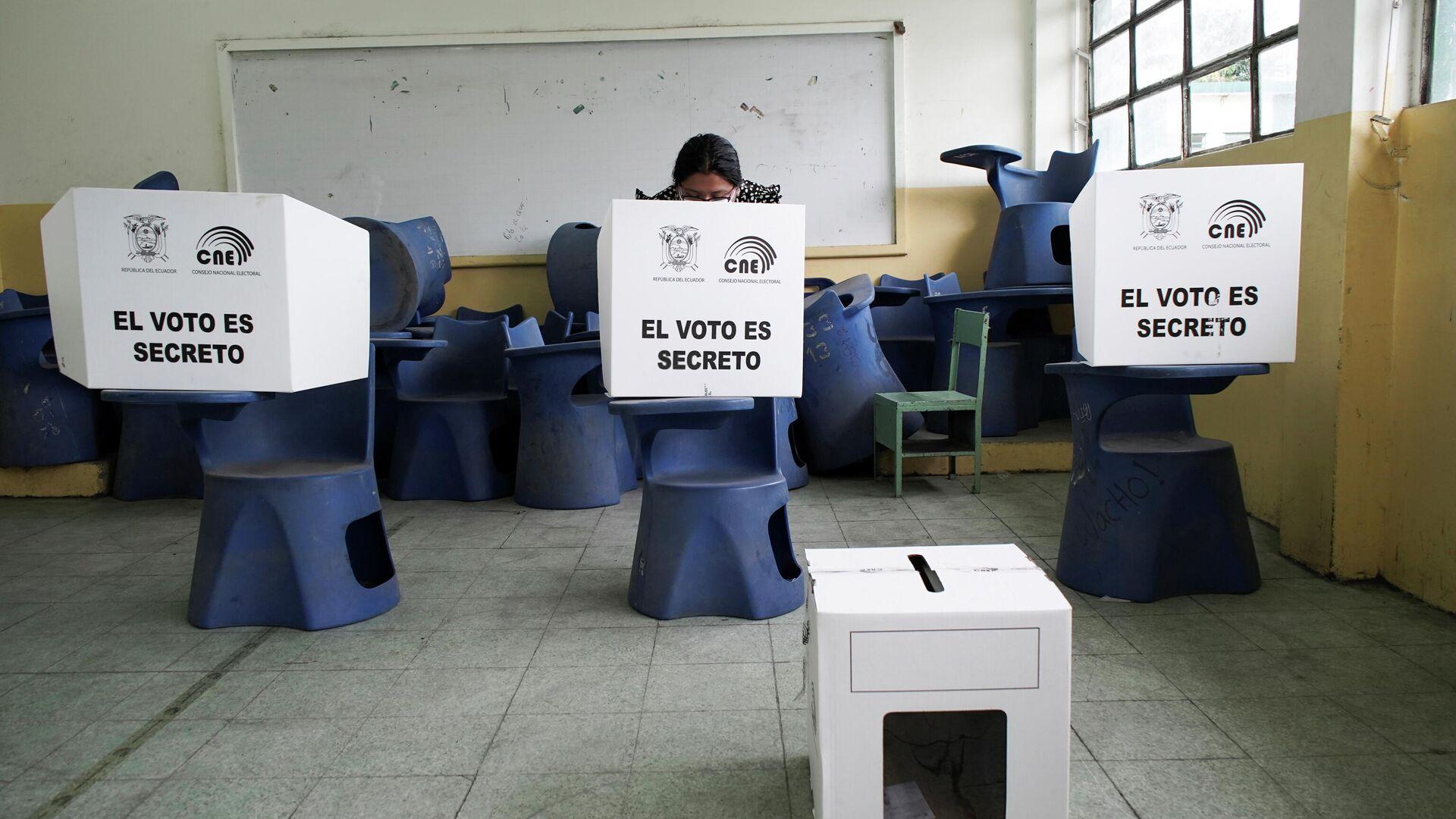 Elecciones en Ecuador - Sputnik Mundo, 1920, 11.04.2021