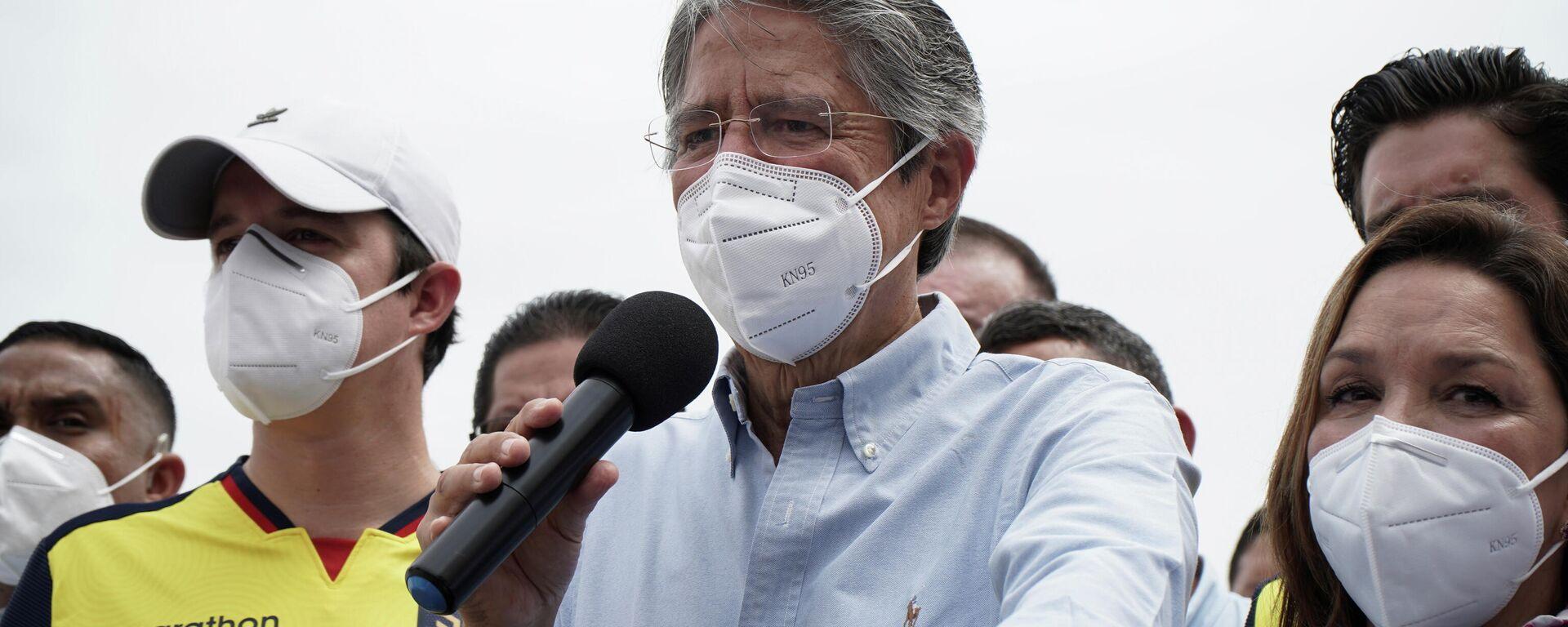 Guillermo Lasso, candidato presidencial de derecha de Ecuador - Sputnik Mundo, 1920, 11.05.2021