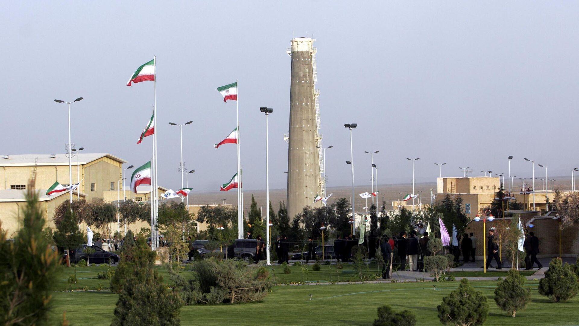 Planta iraní de enriquecimiento de uranio en Natanz - Sputnik Mundo, 1920, 17.04.2021