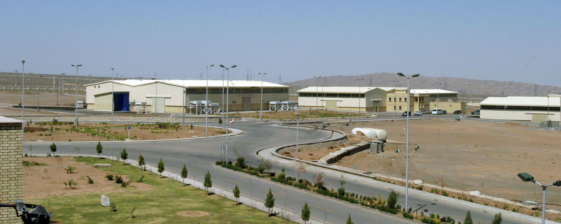 La instalación nuclear iraní de Natanz  - Sputnik Mundo, 1920, 12.04.2021