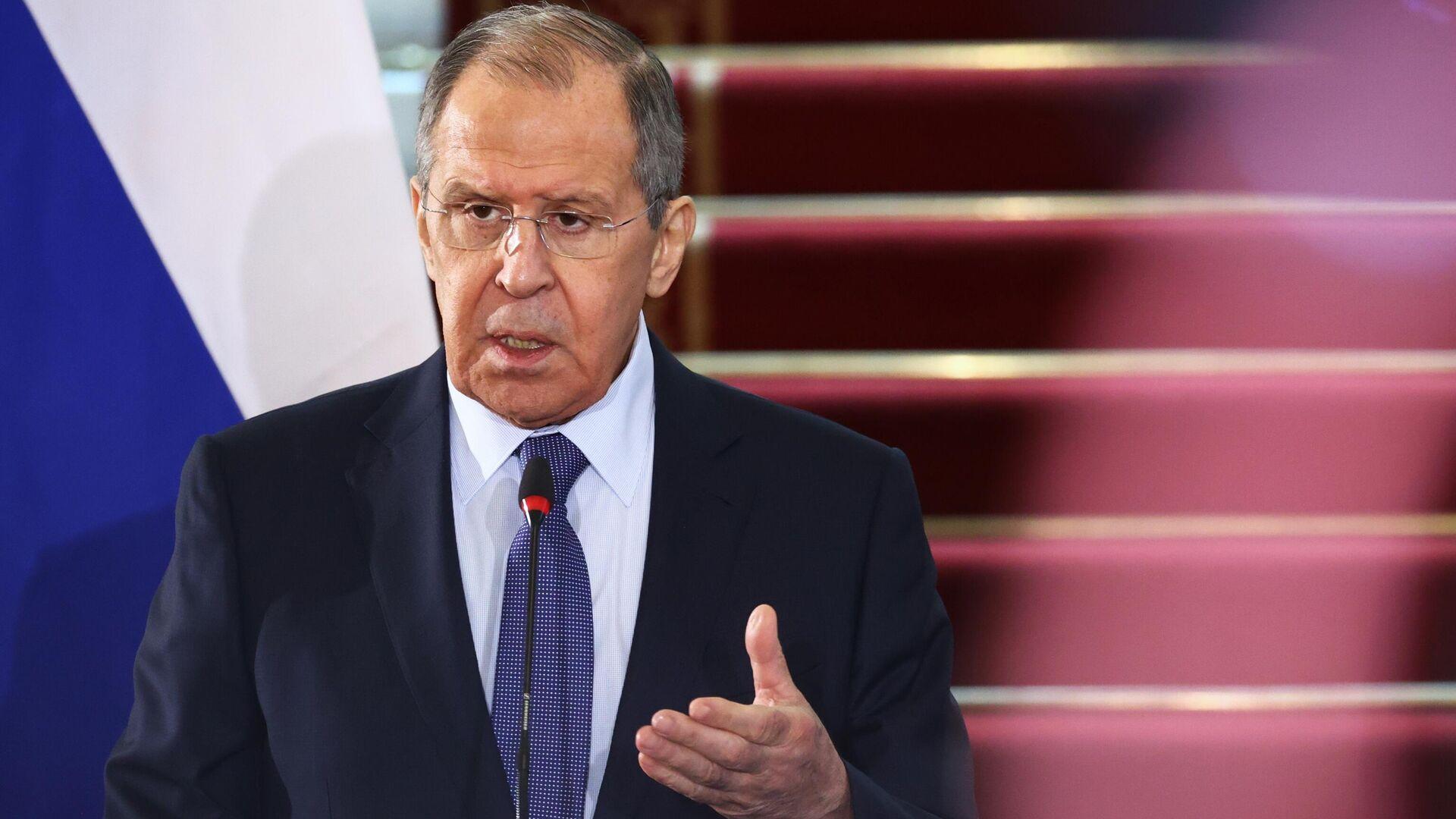 Serguéi Lavrov, ministro de Exteriores de Rusia - Sputnik Mundo, 1920, 12.04.2021