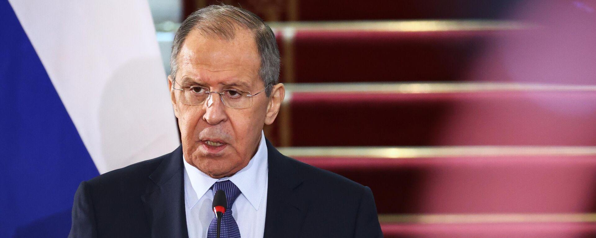 Serguéi Lavrov, ministro de Exteriores de Rusia - Sputnik Mundo, 1920, 28.04.2021