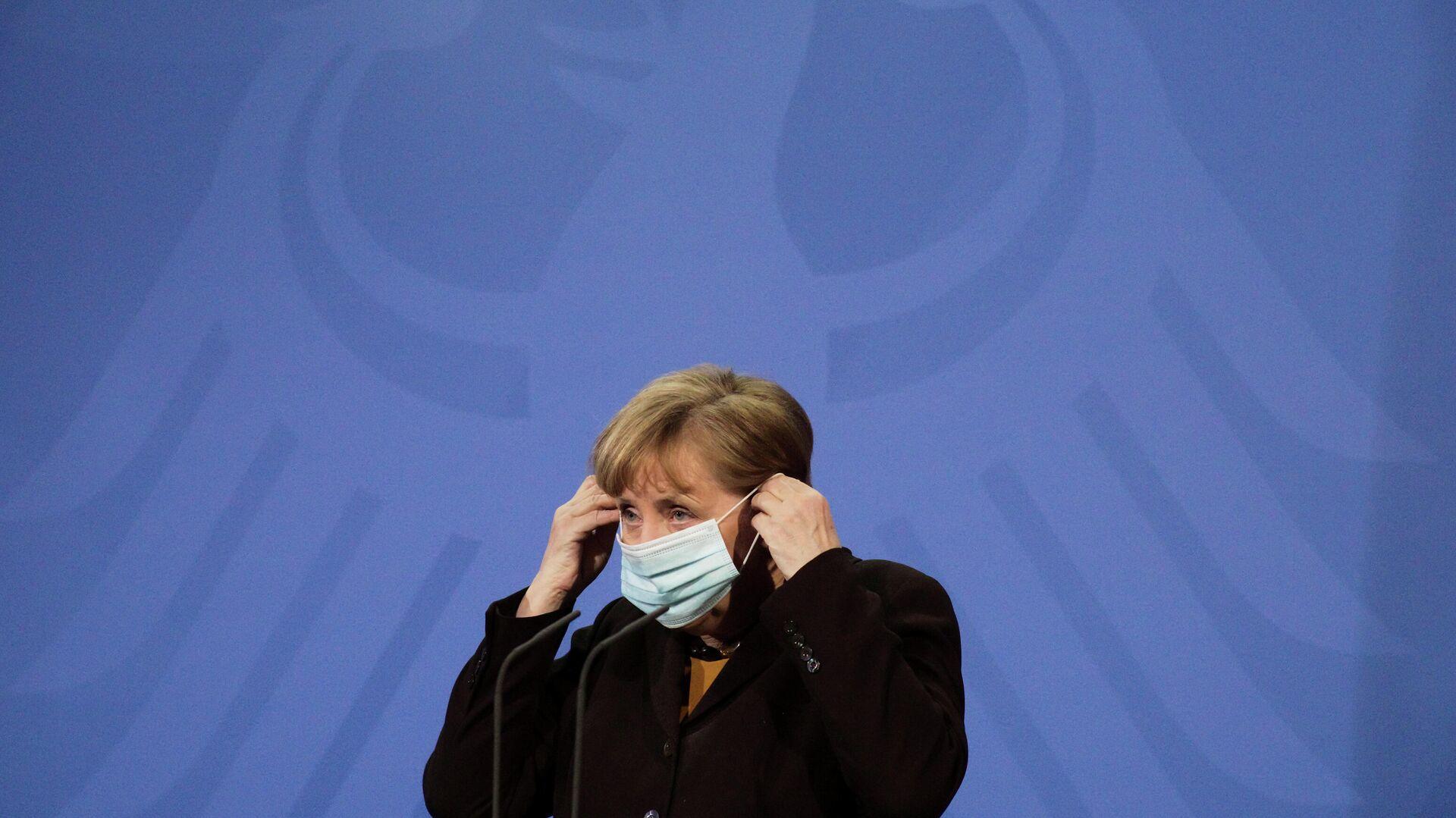 Angela Merkel, canciller alemana - Sputnik Mundo, 1920, 12.04.2021