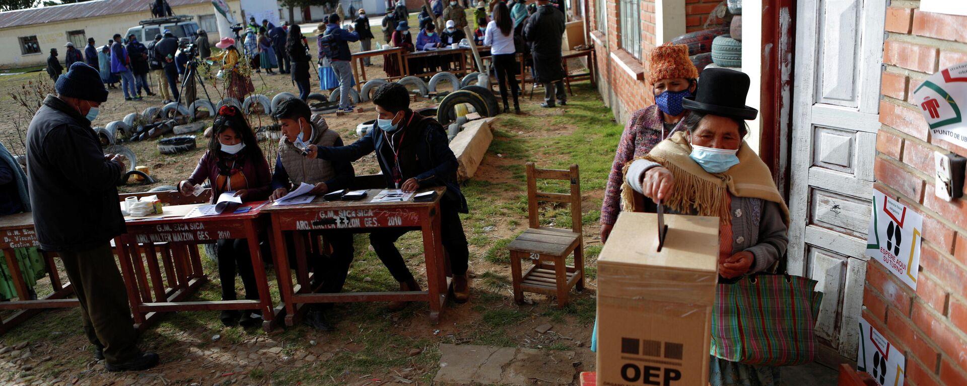 Elecciones regionales en Bolivia - Sputnik Mundo, 1920, 03.05.2021