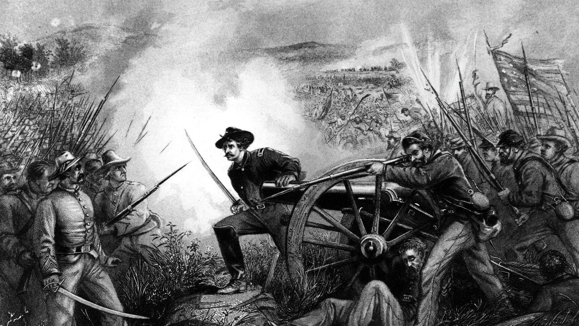 Guerra civil estadounidense - Sputnik Mundo, 1920, 12.04.2021
