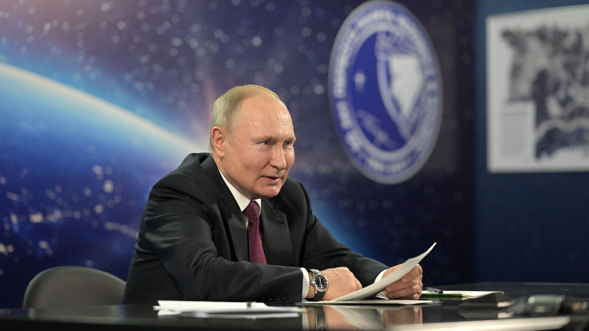 Vladímir Putin, presidente de Rusia - Sputnik Mundo, 1920, 12.04.2021