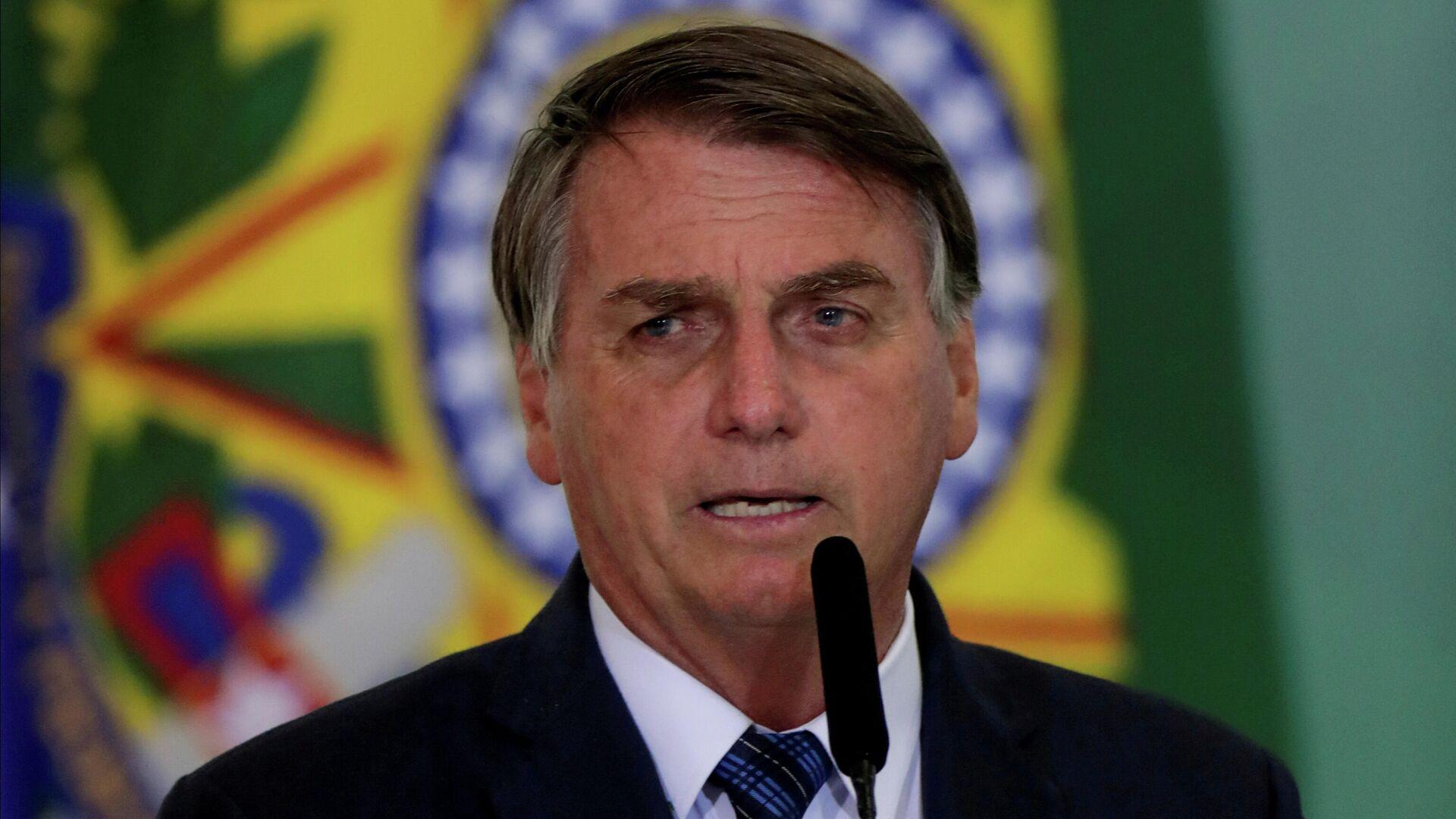 Jair Bolsonaro, el presidente de Brasil - Sputnik Mundo, 1920, 12.04.2021
