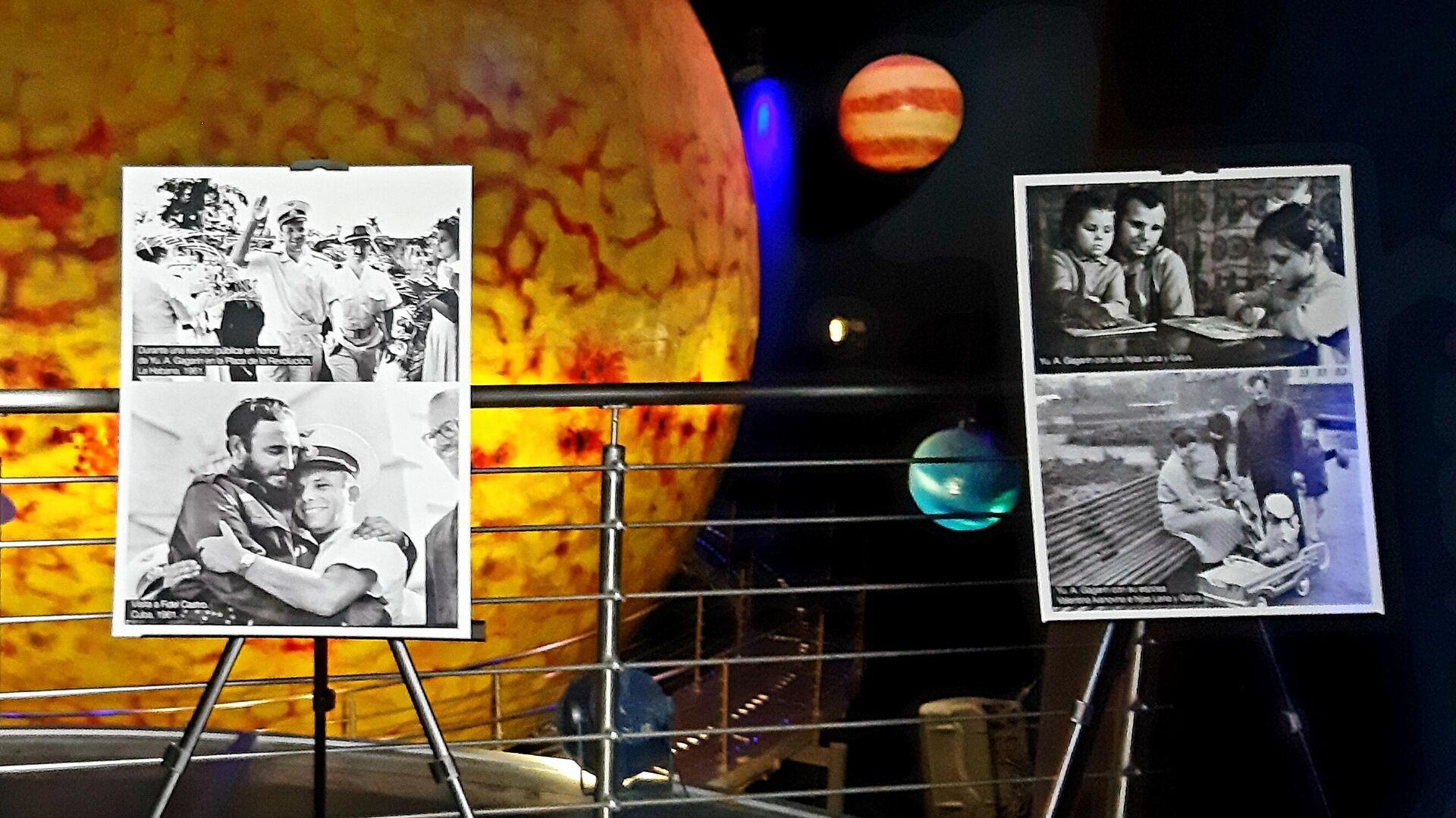 Imágenes de Yuri Gagarin junto a Fidel Castro, y con su familia - Sputnik Mundo, 1920, 12.04.2021