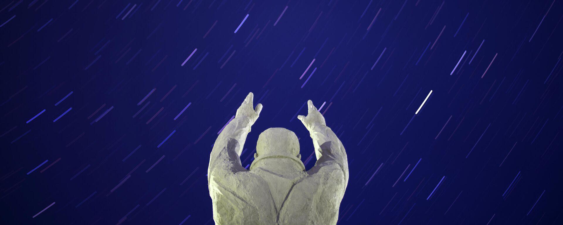 Monumento a Yuri Gagarin en la ciudad de Baikonur - Sputnik Mundo, 1920, 12.04.2021