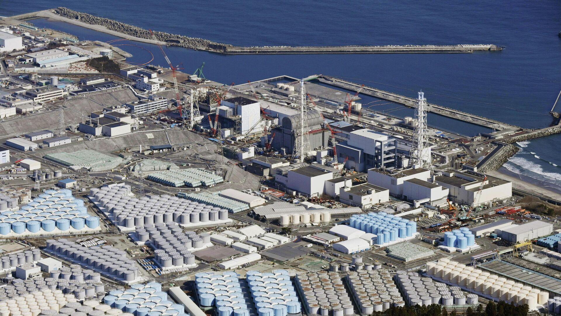 La central nuclear de Fukushima Daiichi - Sputnik Mundo, 1920, 13.04.2021