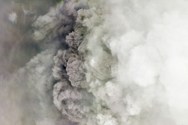 volcán La Soufriere  - Sputnik Mundo