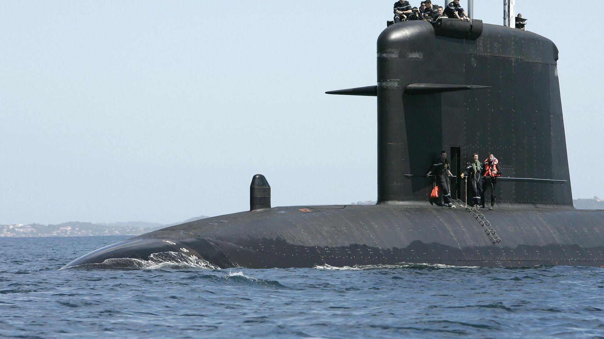 Submarino Saphir - Sputnik Mundo, 1920, 14.04.2021