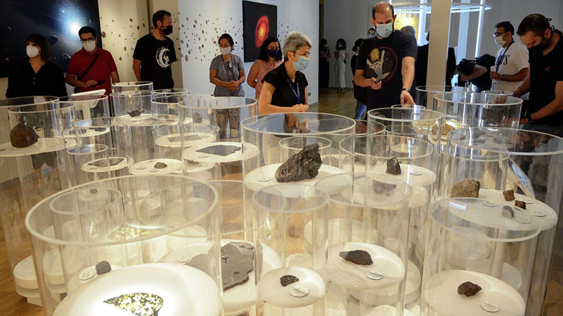Colección meteoritos de Contreras - Sputnik Mundo, 1920, 14.04.2021