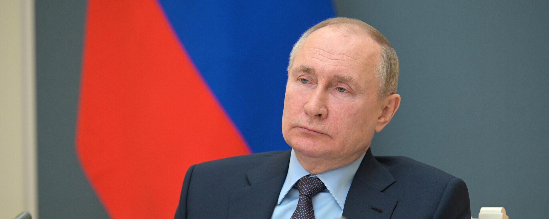 Vladímir Putin, el presidente ruso - Sputnik Mundo, 1920, 11.06.2021