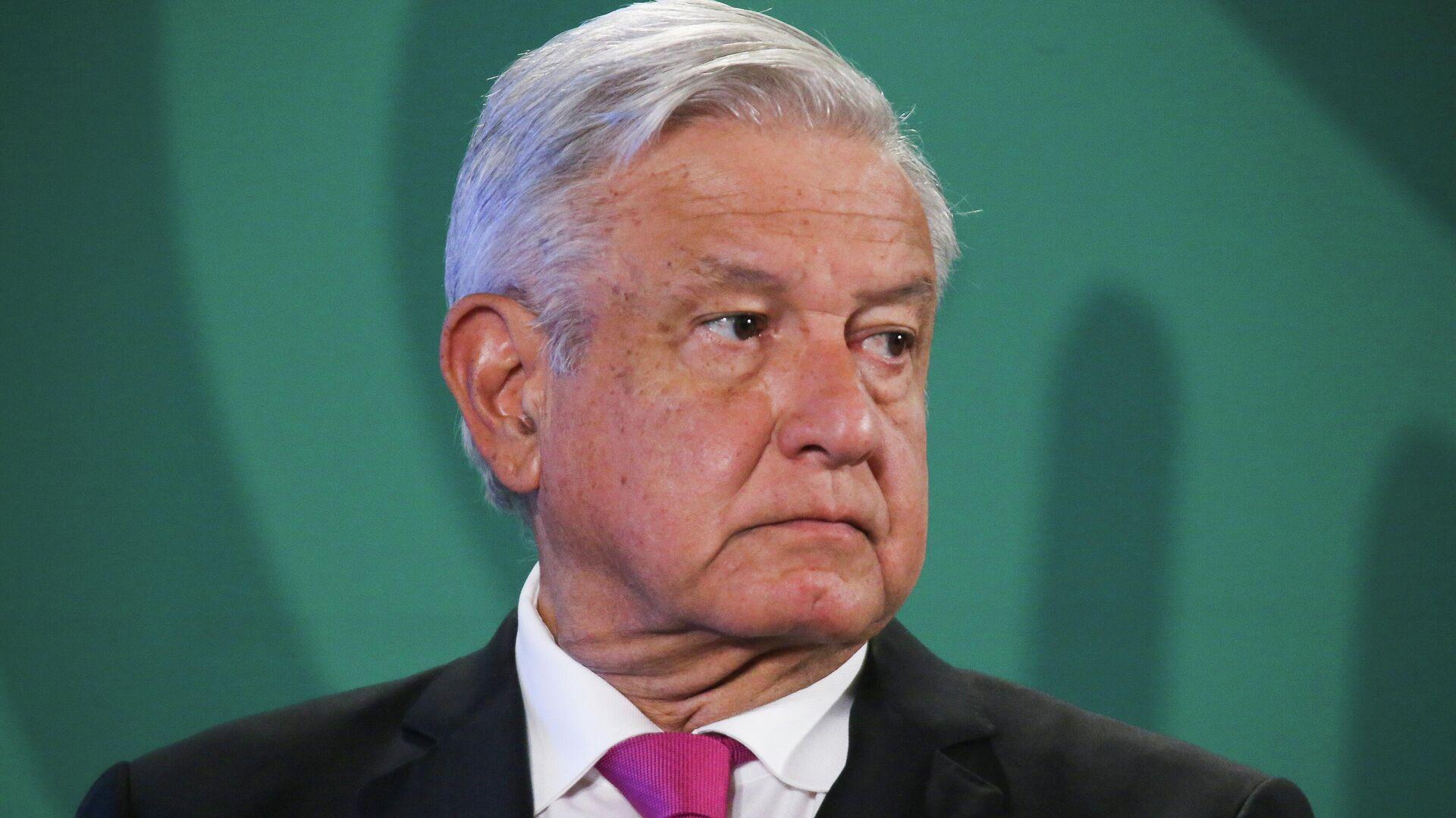 Andrés Manuel López Obrador, presidente de México - Sputnik Mundo, 1920, 23.04.2021
