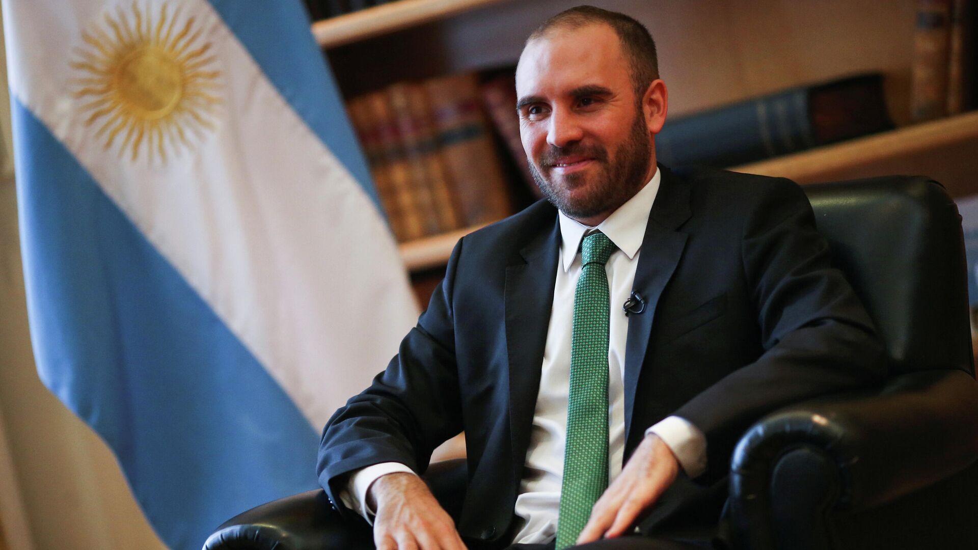 Martín Guzmán, ministro de Economía argentino - Sputnik Mundo, 1920, 21.04.2021