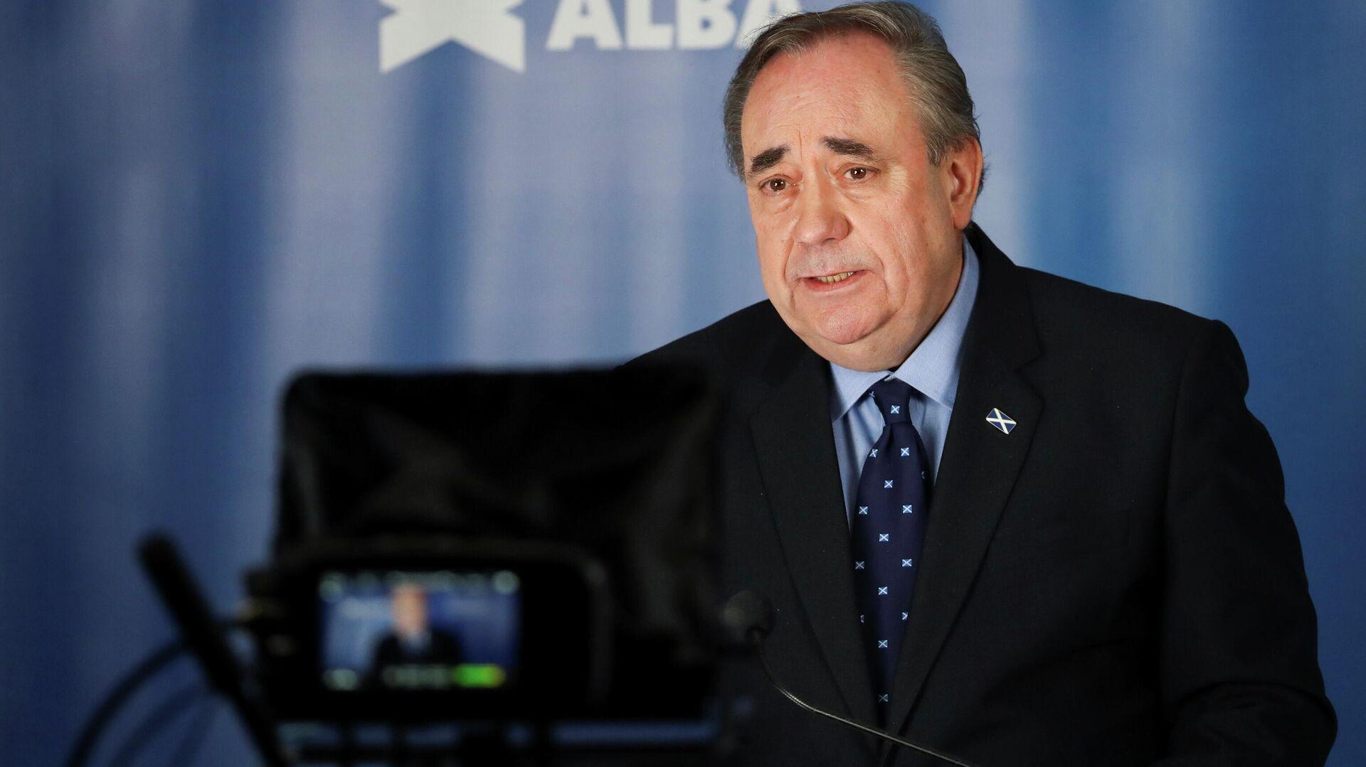 Alex Salmond, anterior líder del Partido Nacional de Escocia y del Gobierno del territorio autonómico británico - Sputnik Mundo, 1920, 14.04.2021