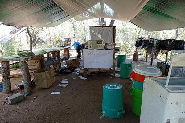 Laboratorio de cocaína en Bolivia - Sputnik Mundo