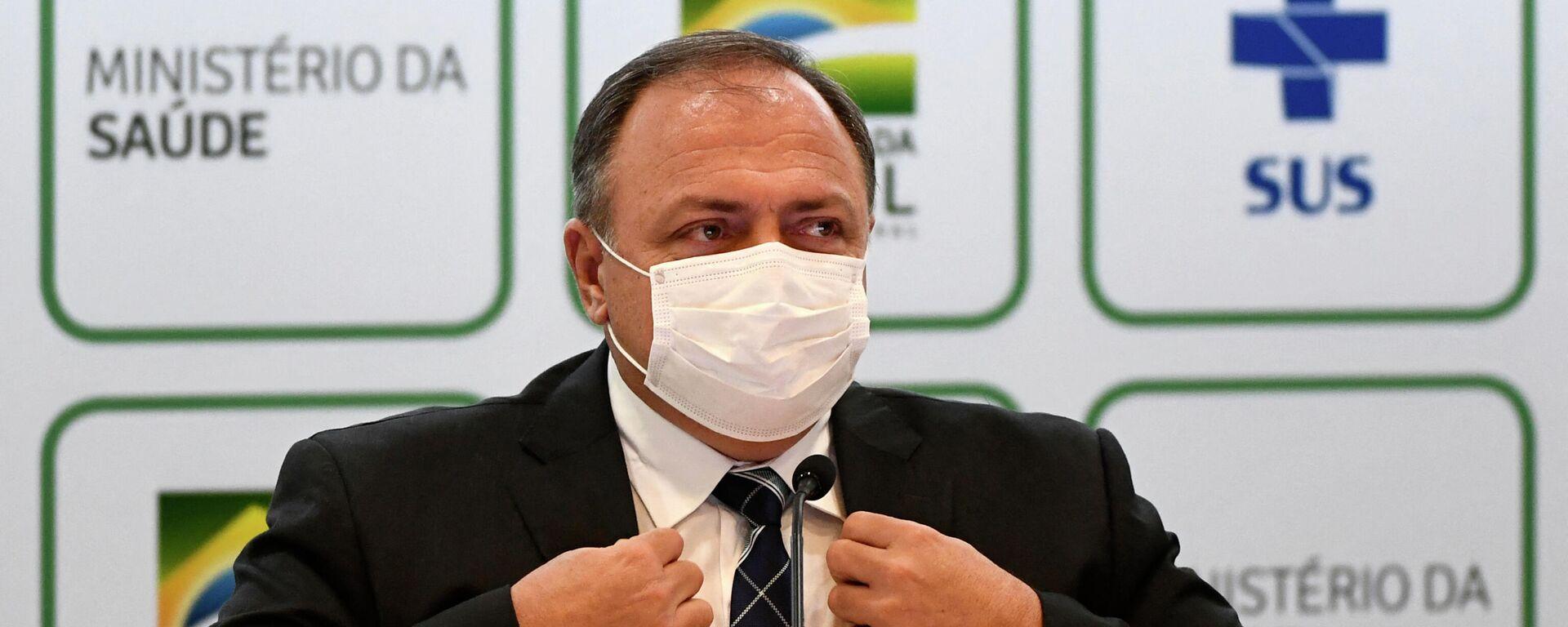 Eduardo Pazuello, exministro de Salud de Brasil - Sputnik Mundo, 1920, 14.04.2021