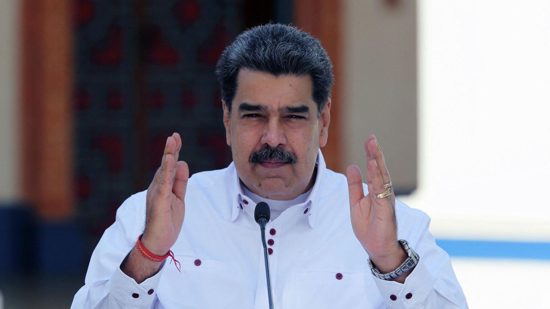 Nicolás Maduro, presidente de Venezuela - Sputnik Mundo, 1920, 14.04.2021